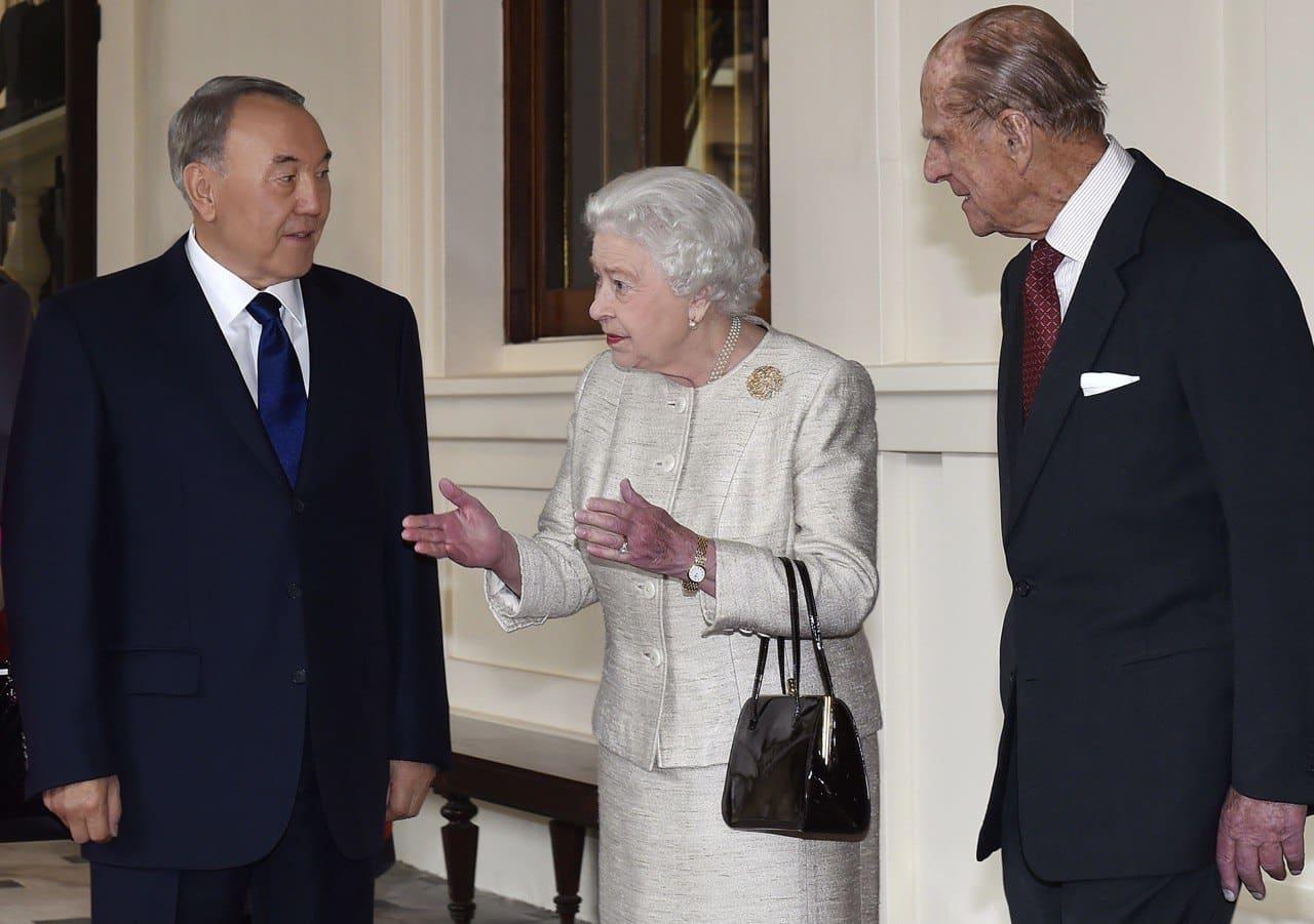 ІІ Елизавета, Назарбаев