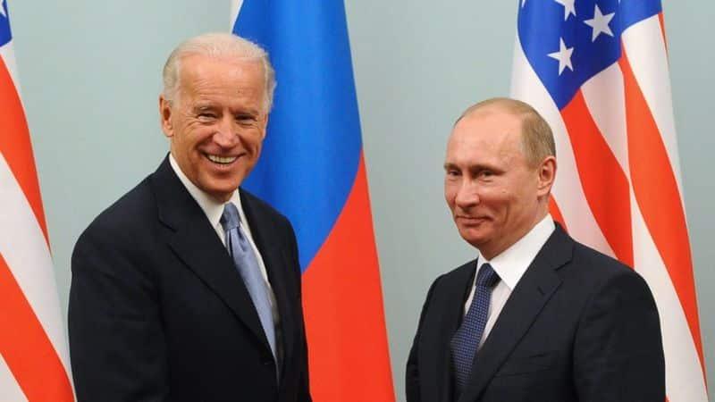 Джо Байден, Путин