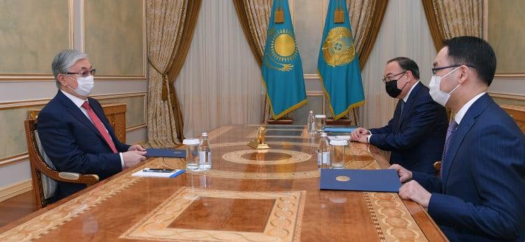 Қасым-Жомарт Тоқаев және Ержан Ашықбаев