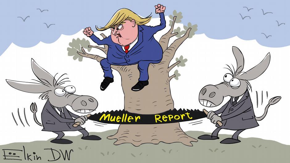 Дональд Трамп, сатира