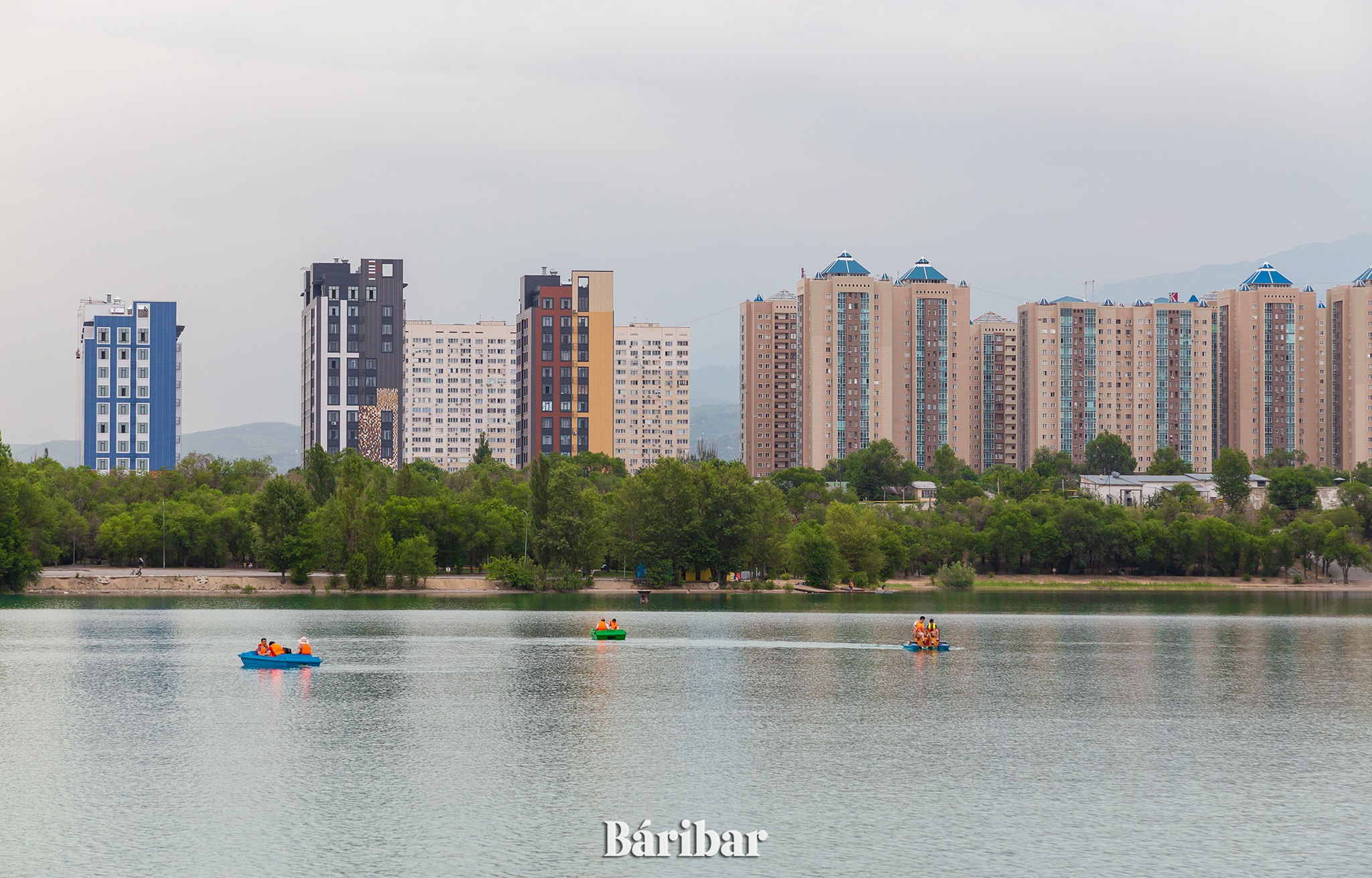 Сайран, Алматы, су, көл, өзен