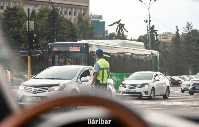 жол полициясы, Алматы, көще, бағдаршам, көлік
