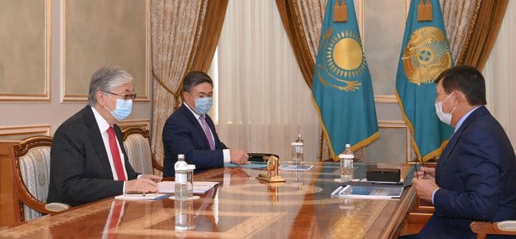 Қасым-Жомарт Тоқаев Қайрат Шәріпбаев